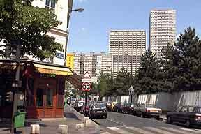 13e ouest for Arrondissement porte d italie
